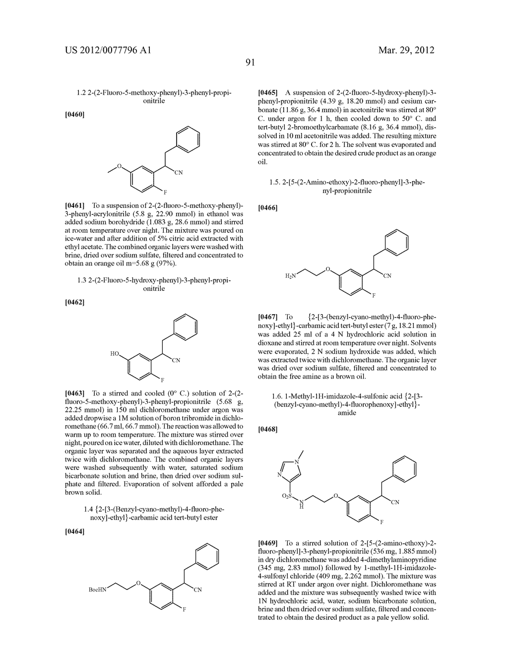 PHENALKYLAMINE DERIVATIVES, PHARMACEUTICAL COMPOSITIONS CONTAINING THEM,     AND THEIR USE IN THERAPY - diagram, schematic, and image 92