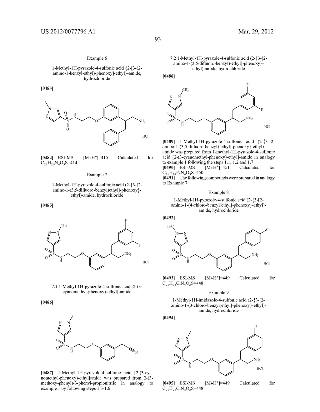 PHENALKYLAMINE DERIVATIVES, PHARMACEUTICAL COMPOSITIONS CONTAINING THEM,     AND THEIR USE IN THERAPY - diagram, schematic, and image 94