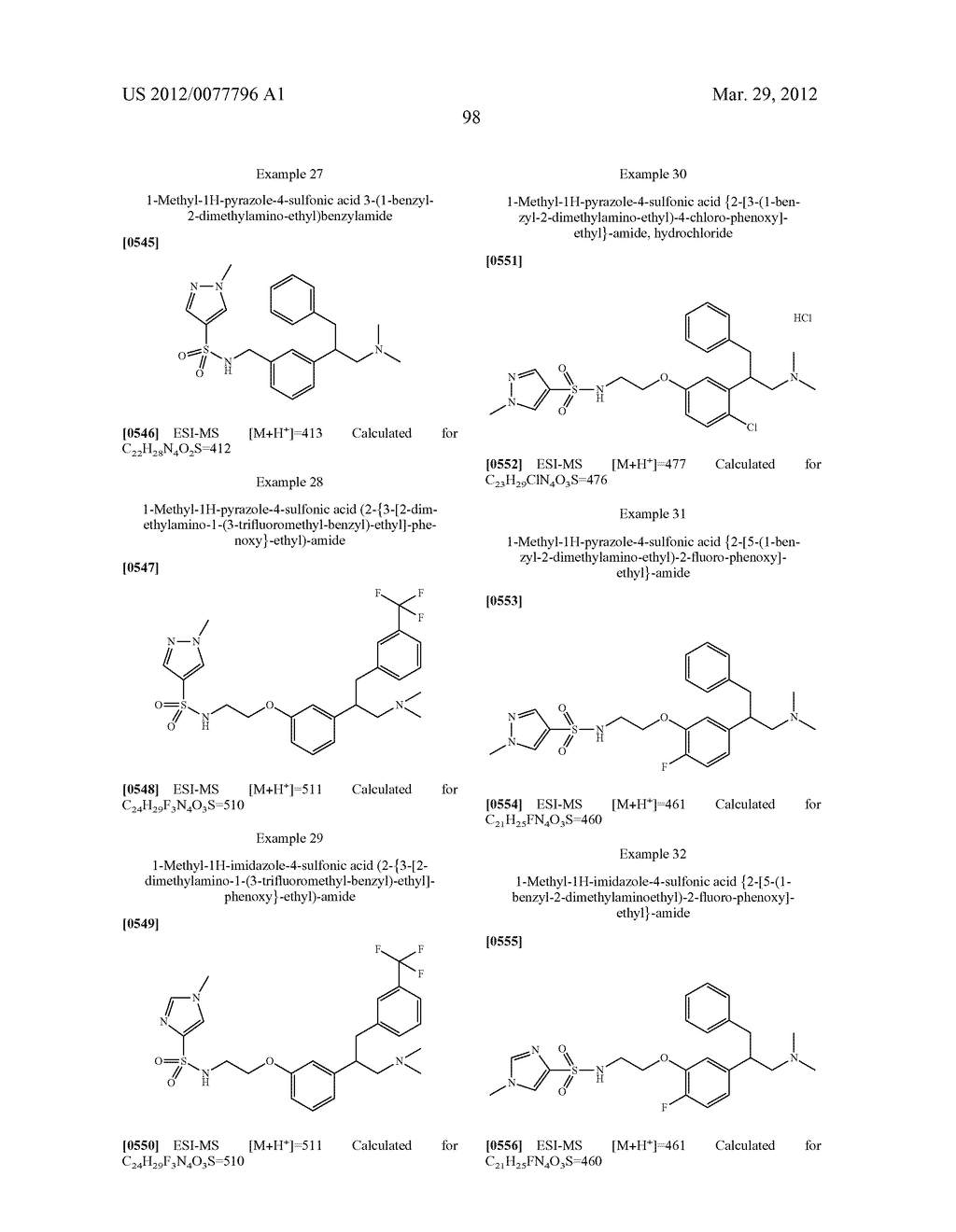 PHENALKYLAMINE DERIVATIVES, PHARMACEUTICAL COMPOSITIONS CONTAINING THEM,     AND THEIR USE IN THERAPY - diagram, schematic, and image 99