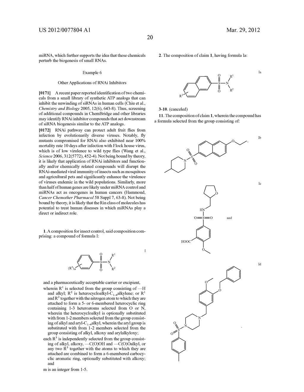 Small Molecule Inhibitors of RNA Silencing - diagram, schematic, and image 25