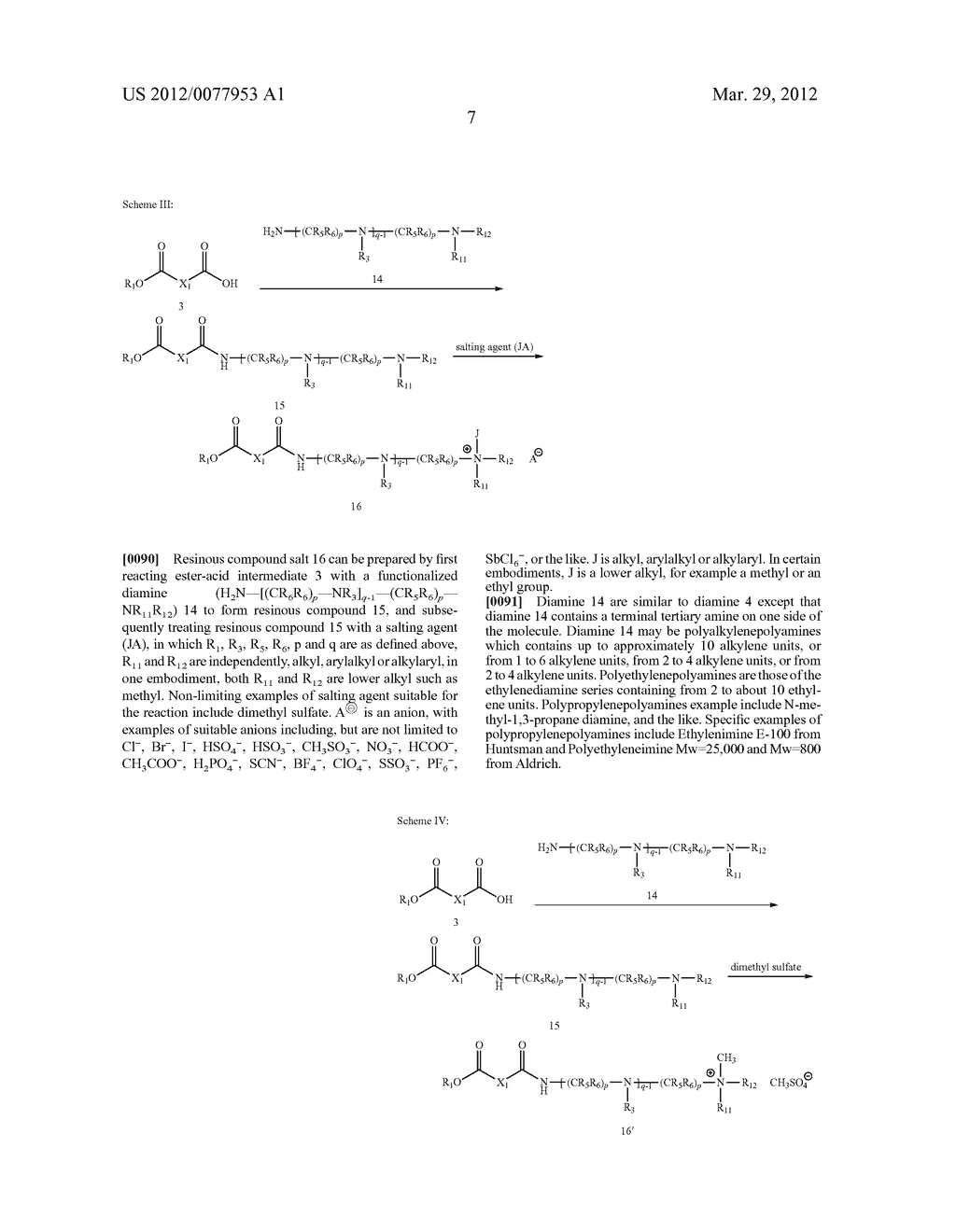 SYNTHESIS OF TRI-COMPONENT RESINS - diagram, schematic, and image 12