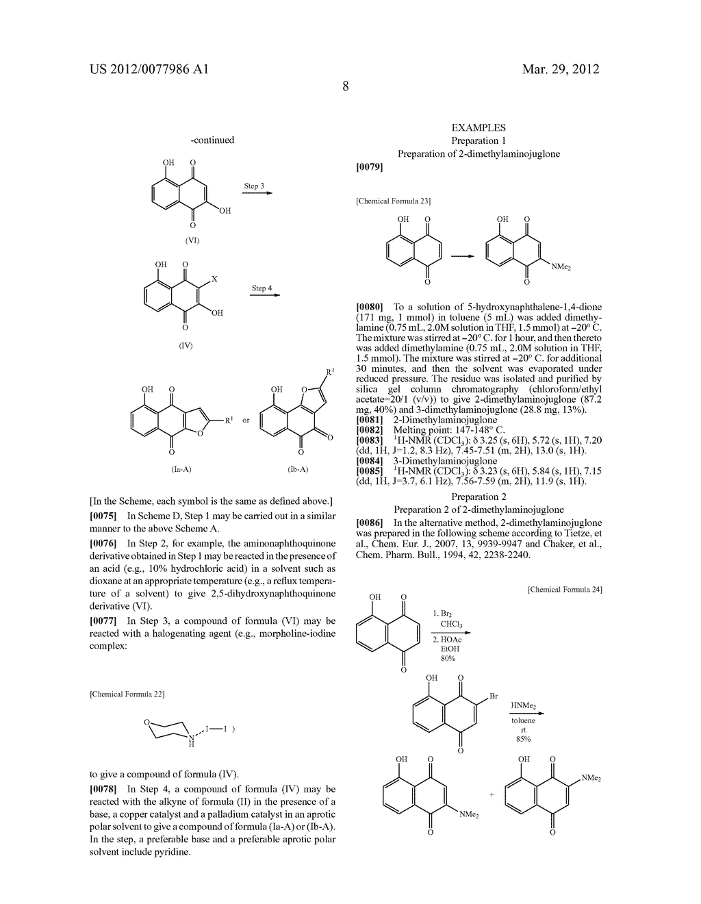 NOVEL PREPARATION OF ANTICANCER-ACTIVE TRICYCLIC COMPOUNDS VIA ALKYNE     COUPLING REACTION - diagram, schematic, and image 09