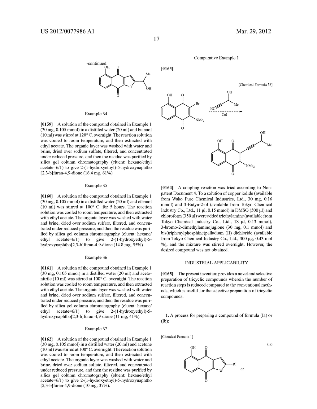 NOVEL PREPARATION OF ANTICANCER-ACTIVE TRICYCLIC COMPOUNDS VIA ALKYNE     COUPLING REACTION - diagram, schematic, and image 18