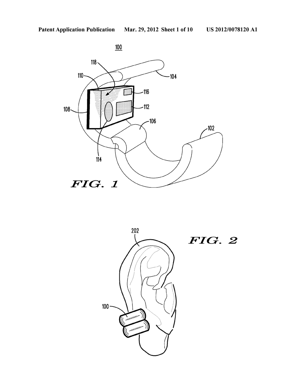 METHOD AND APPARATUS FOR ROBUST HEART RATE SENSING - diagram, schematic, and image 02
