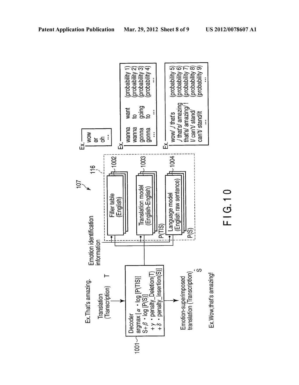 SPEECH TRANSLATION APPARATUS, METHOD AND PROGRAM - diagram, schematic, and image 09
