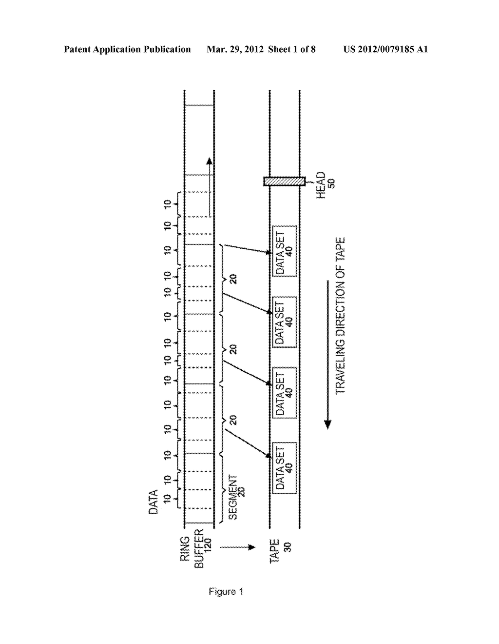 TAPE STORAGE SYSTEM INCLUDING MULTIPLE TAPE STORAGE APPARATUSES - diagram, schematic, and image 02