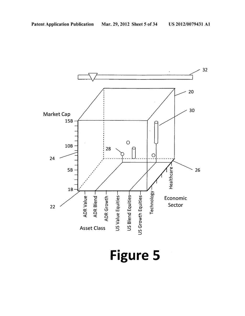 System and method for 3-dimensional display of data - diagram, schematic, and image 06