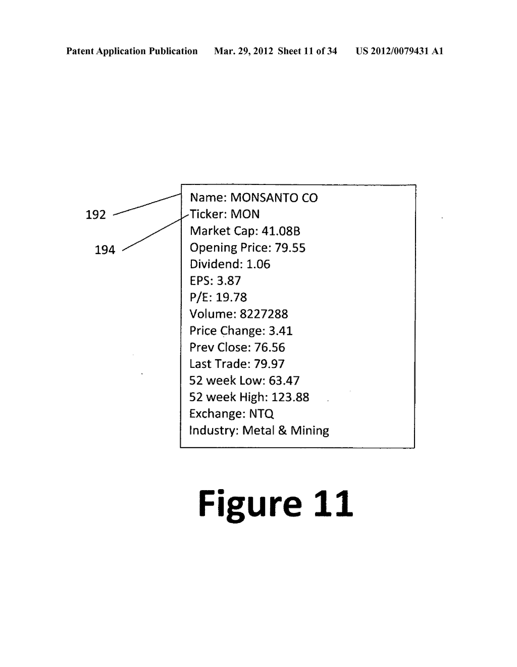 System and method for 3-dimensional display of data - diagram, schematic, and image 12
