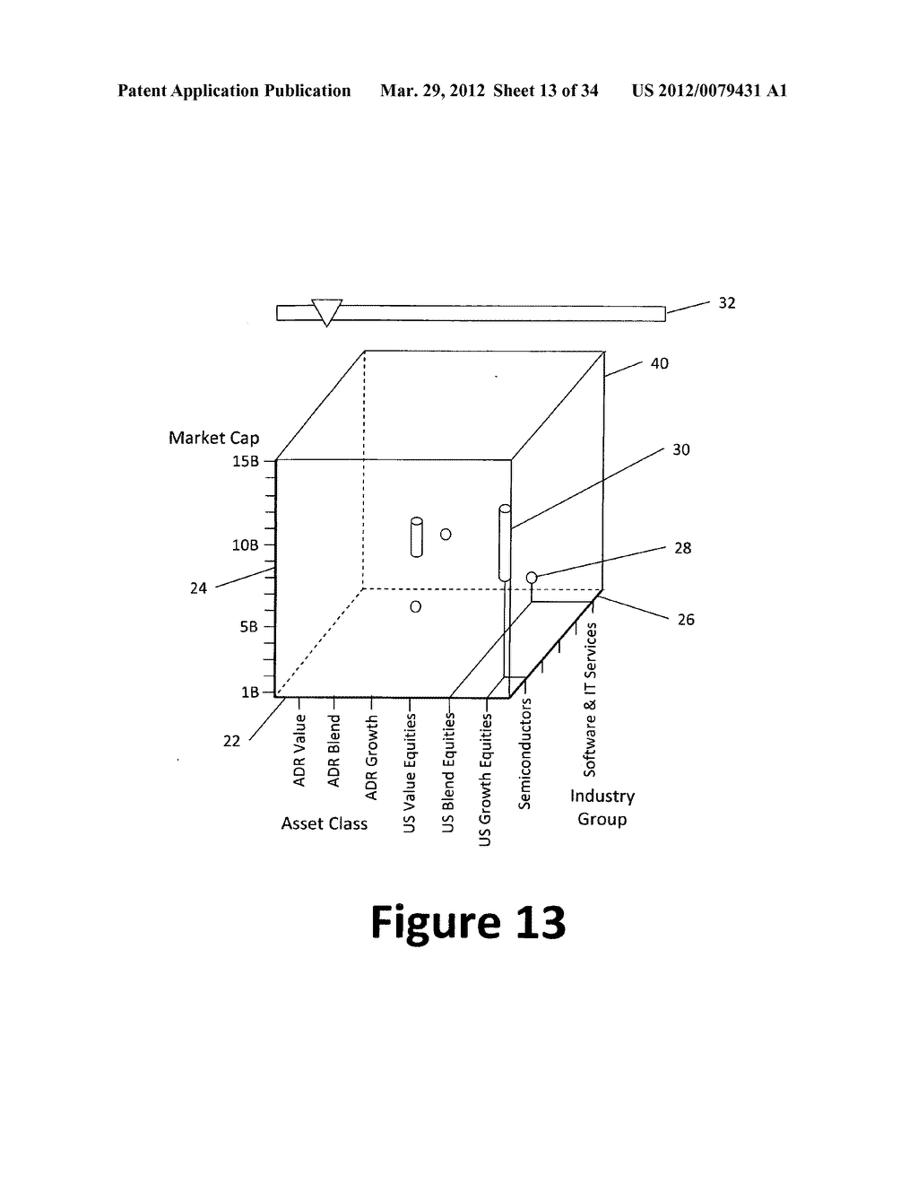 System and method for 3-dimensional display of data - diagram, schematic, and image 14