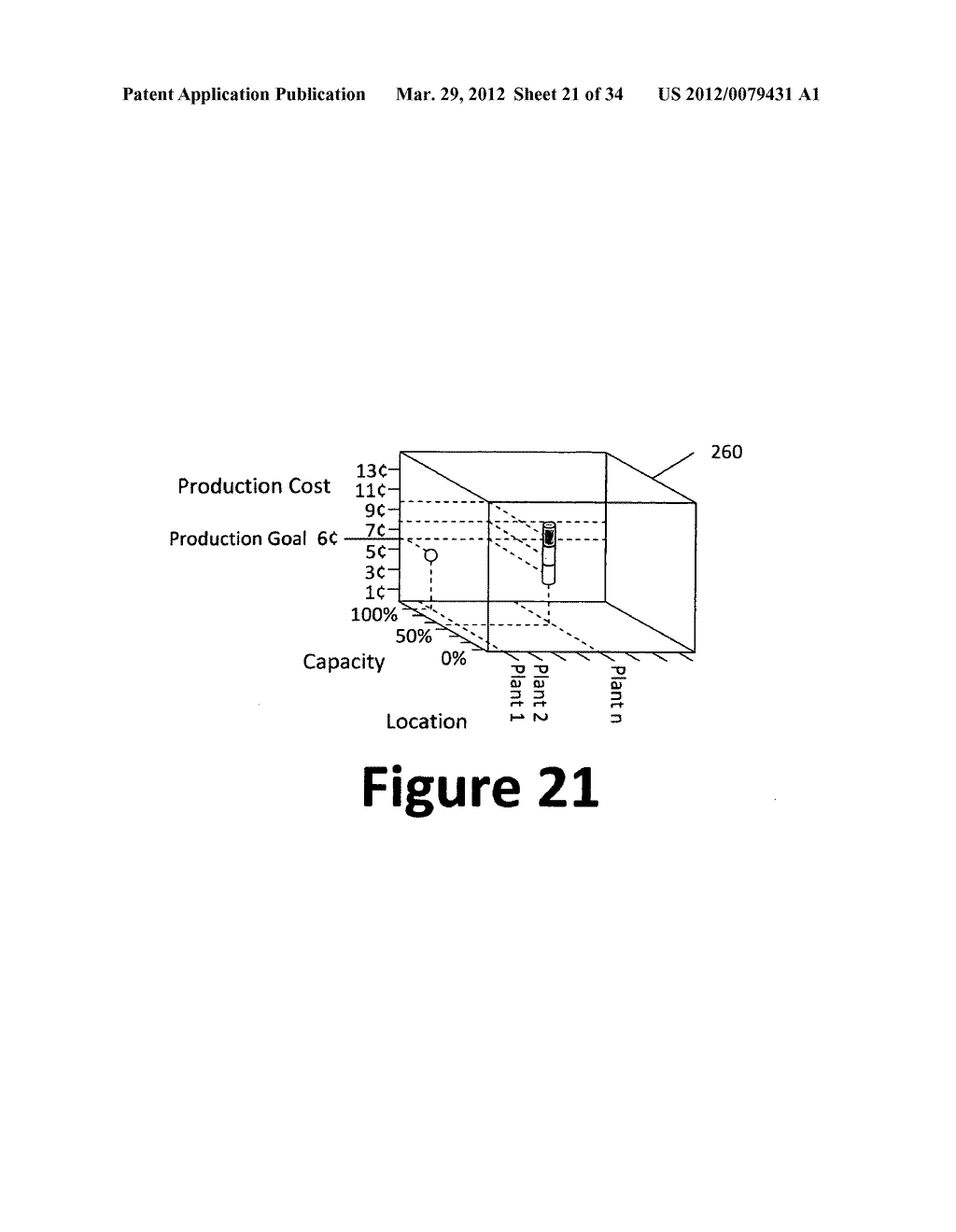 System and method for 3-dimensional display of data - diagram, schematic, and image 22