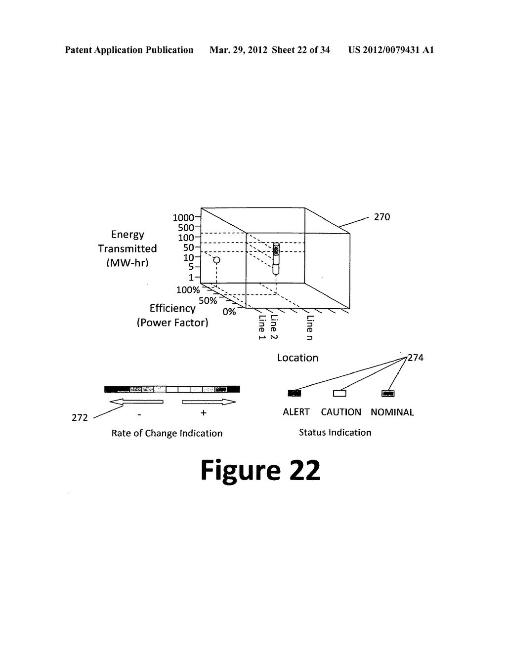 System and method for 3-dimensional display of data - diagram, schematic, and image 23