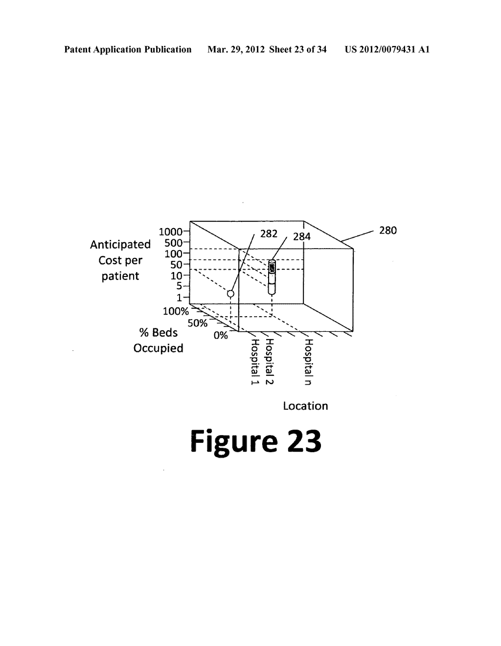 System and method for 3-dimensional display of data - diagram, schematic, and image 24