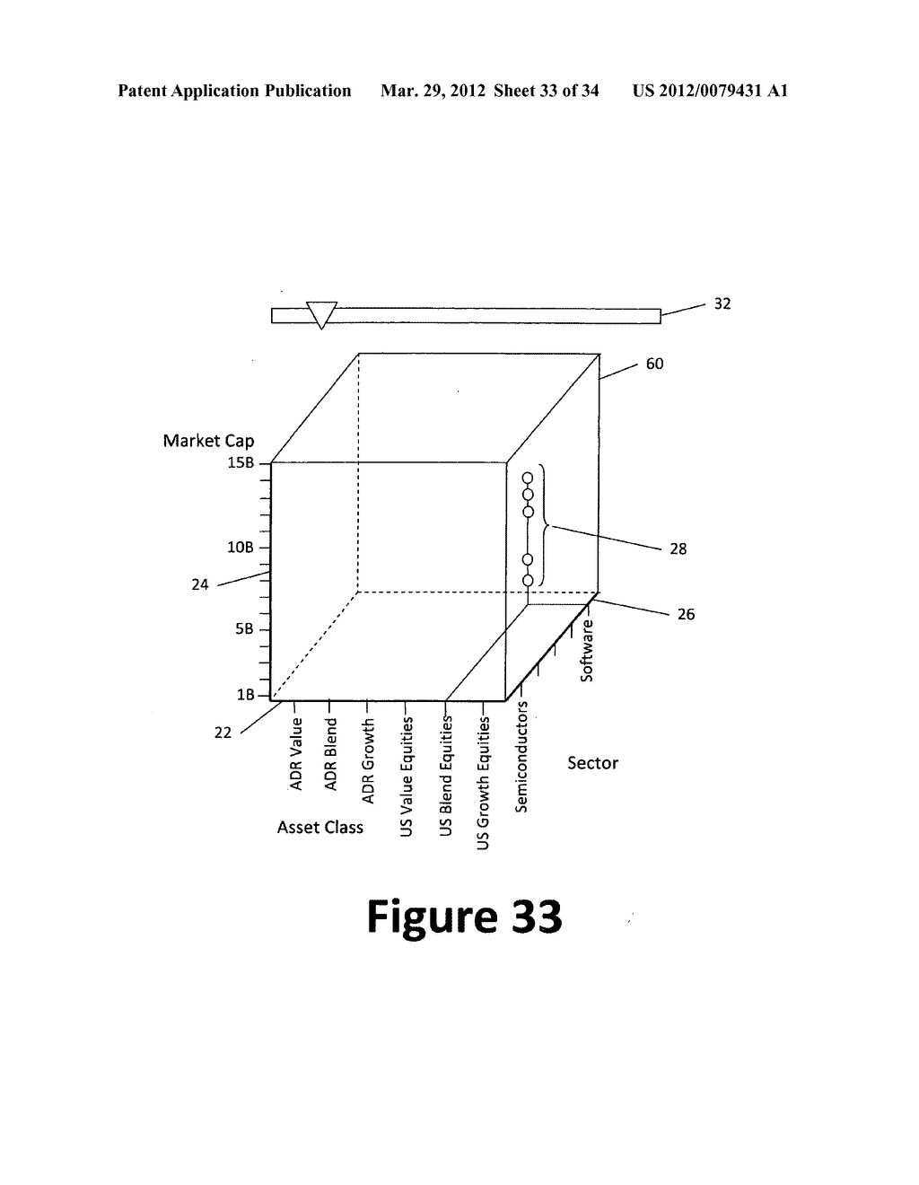 System and method for 3-dimensional display of data - diagram, schematic, and image 34