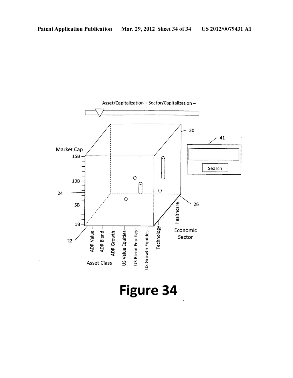 System and method for 3-dimensional display of data - diagram, schematic, and image 35
