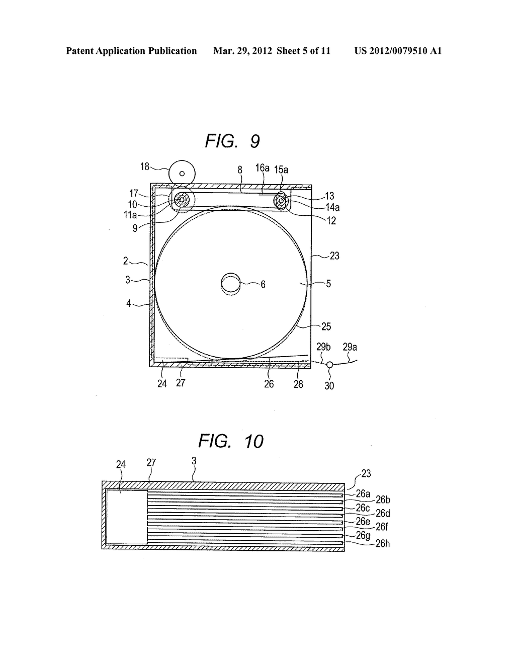 OPTICAL DISC STORAGE MAGAZINE AND DISC CHANGER - diagram, schematic, and image 06