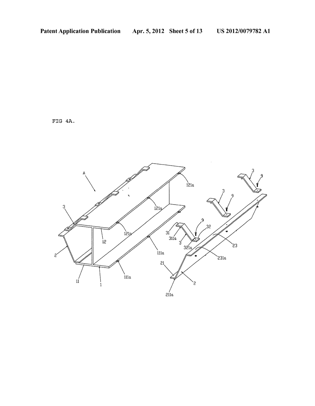 SUPPORT BEAM STRUCTURE CAPABLE OF EXTENDING SPAN AND REDUCING HEIGHT OF     CEILING STRUCTURE AND INSTALLING METHOD THEREOF - diagram, schematic, and image 06
