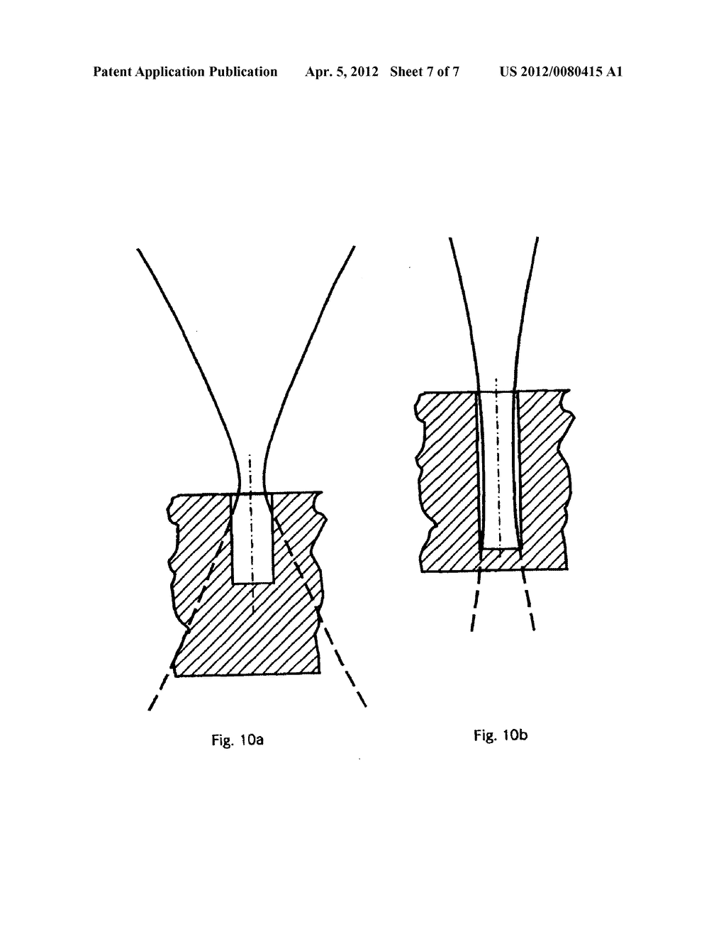 METHOD AND DEVICE FOR PRODUCING A HOLE IN AN OBJECT - diagram, schematic, and image 08