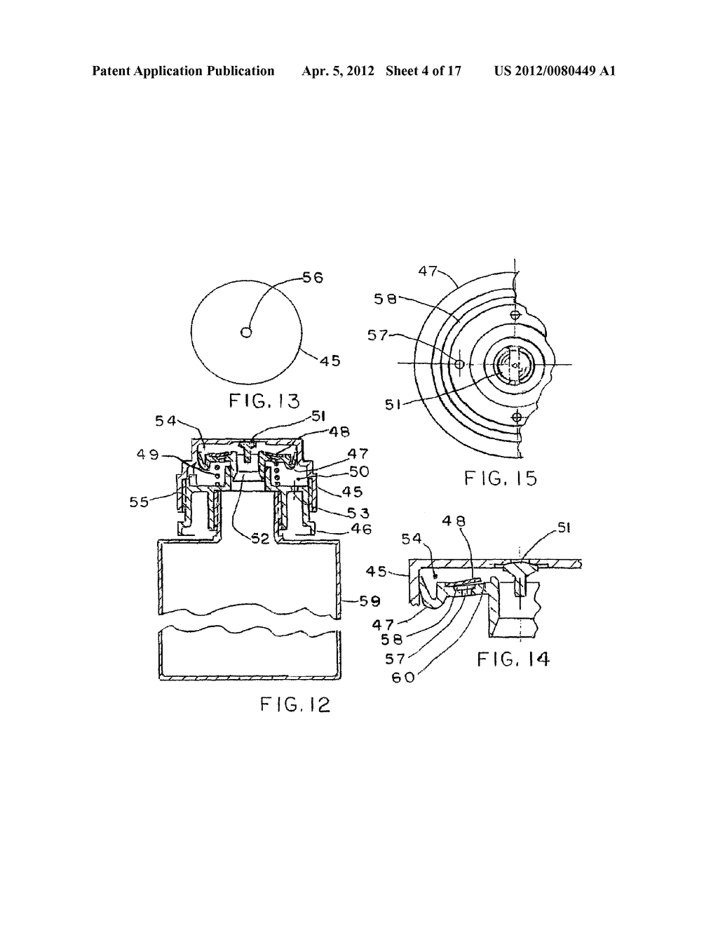 AUTOMATIC DISPENSING CAP FOR SQUEEZABLE BOTTLE - diagram, schematic, and image 05