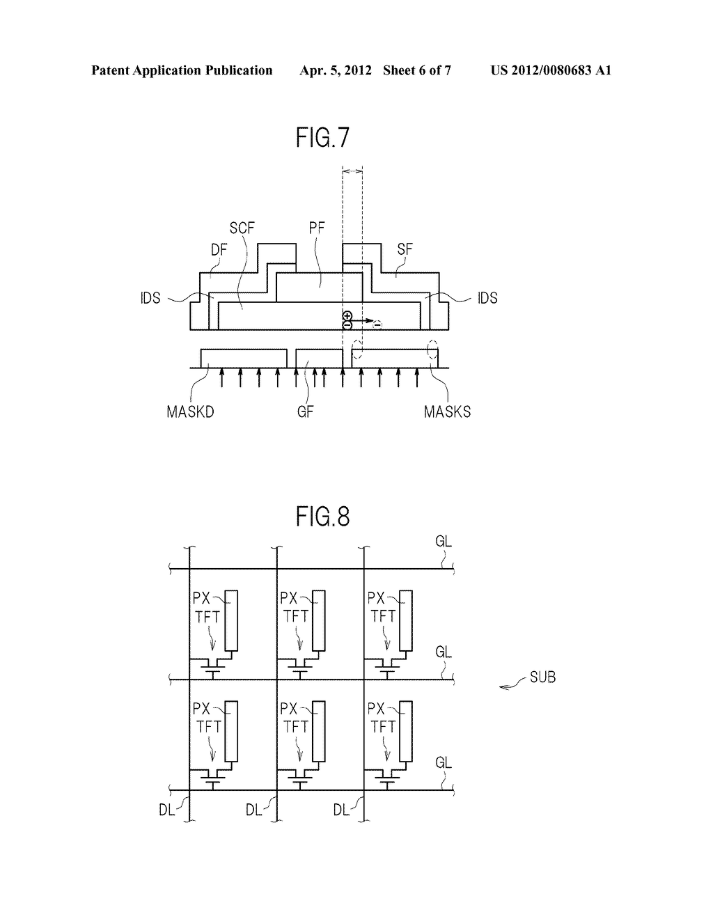 THIN FILM TRANSITOR, DISPLAY DEVICE, AND LIQUID CRYSTAL DISPLAY DEVICE - diagram, schematic, and image 07