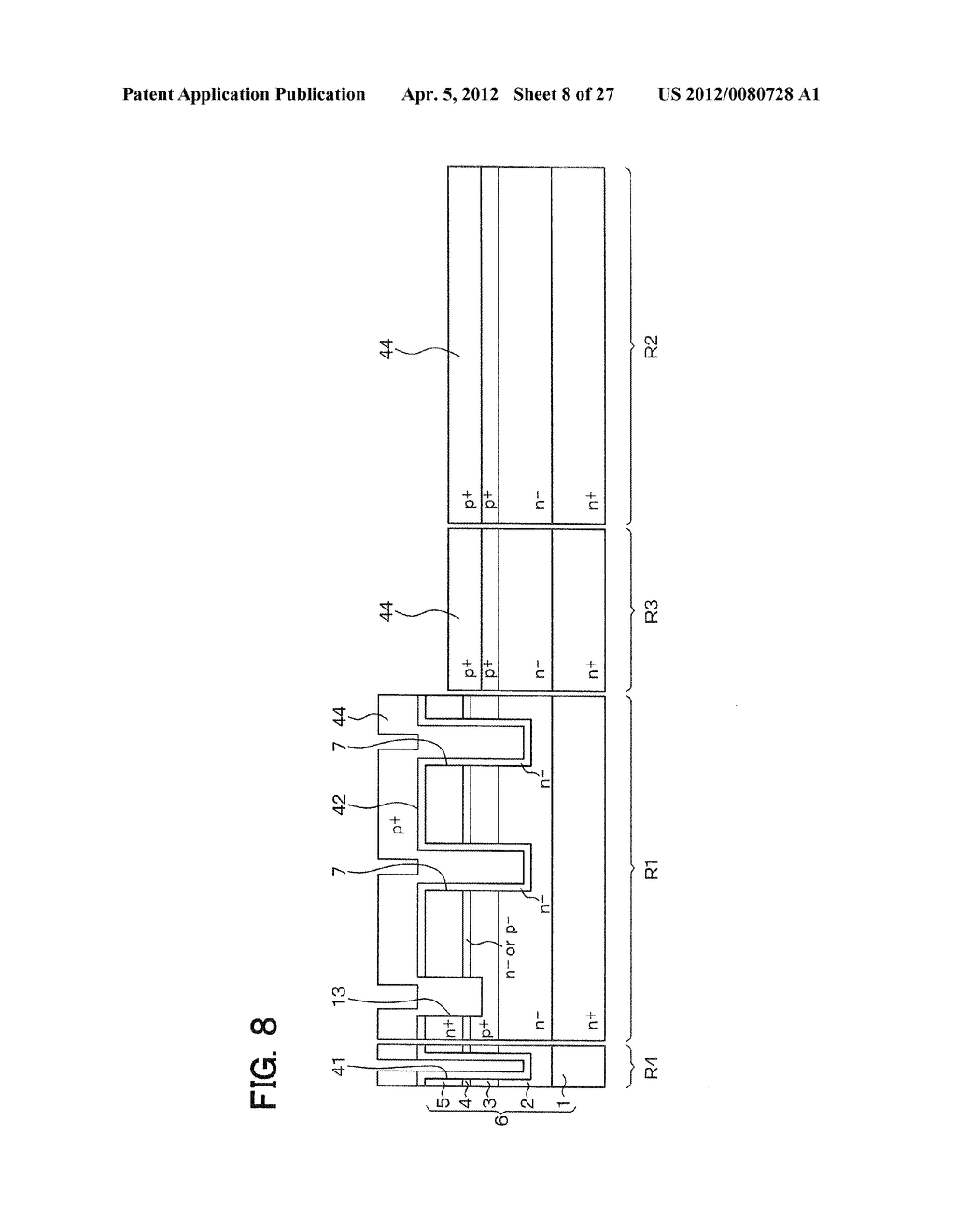 SEMICONDUCTOR DEVICE WITH JUNCTION FIELD-EFFECT TRANSISTOR AND     MANUFACTURING METHOD OF THE SAME - diagram, schematic, and image 09