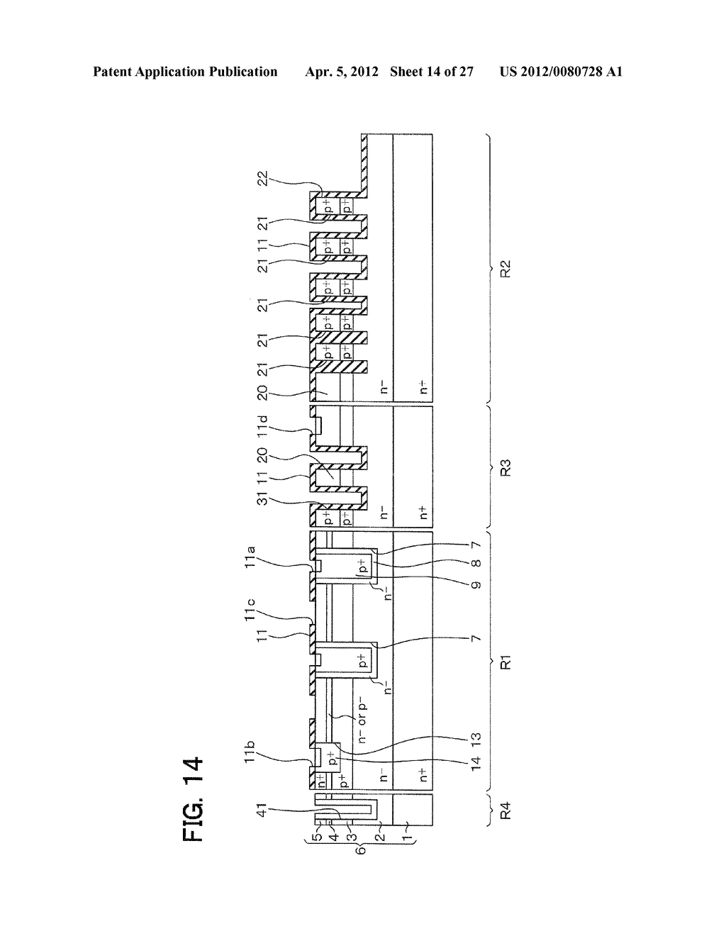 SEMICONDUCTOR DEVICE WITH JUNCTION FIELD-EFFECT TRANSISTOR AND     MANUFACTURING METHOD OF THE SAME - diagram, schematic, and image 15
