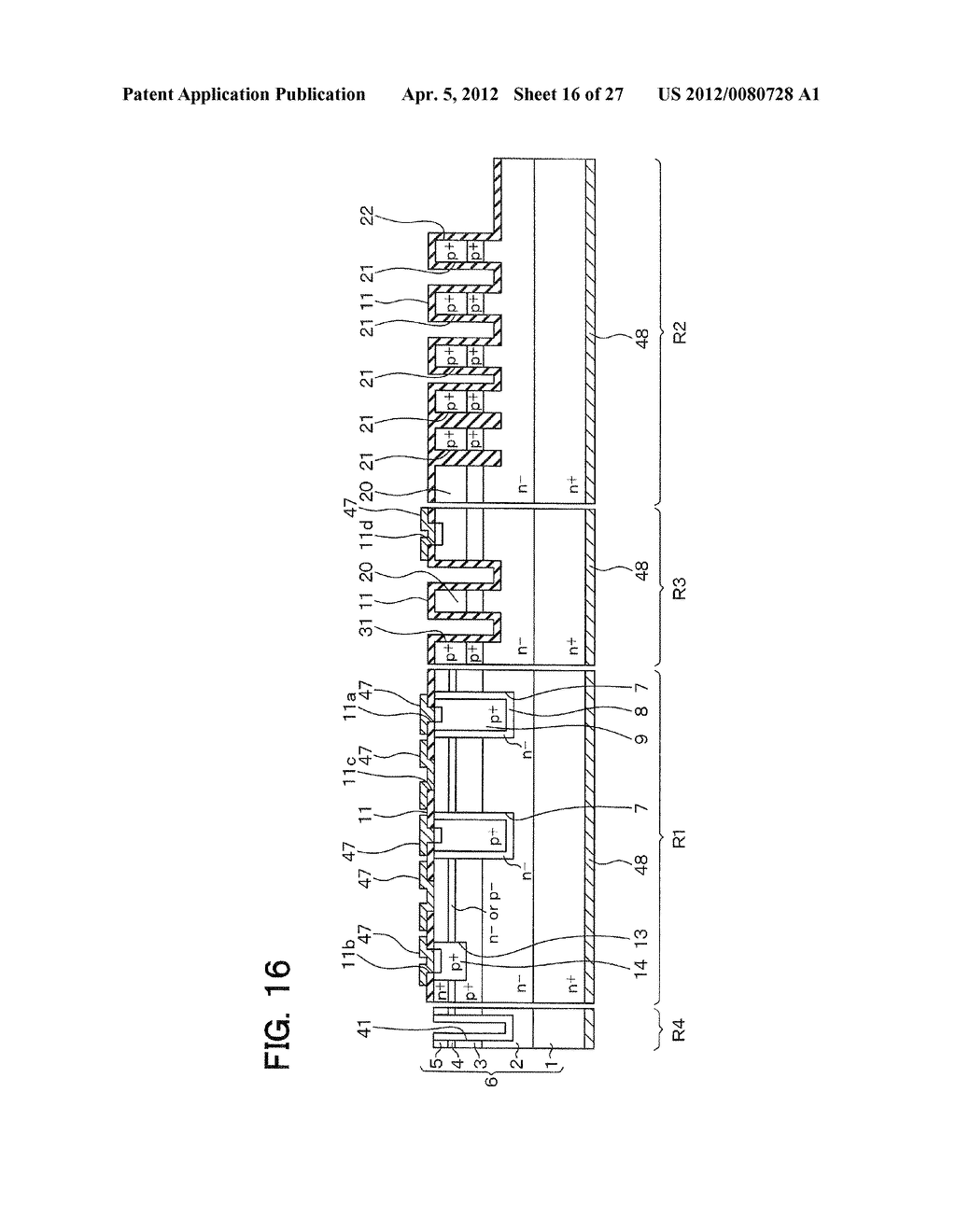 SEMICONDUCTOR DEVICE WITH JUNCTION FIELD-EFFECT TRANSISTOR AND     MANUFACTURING METHOD OF THE SAME - diagram, schematic, and image 17