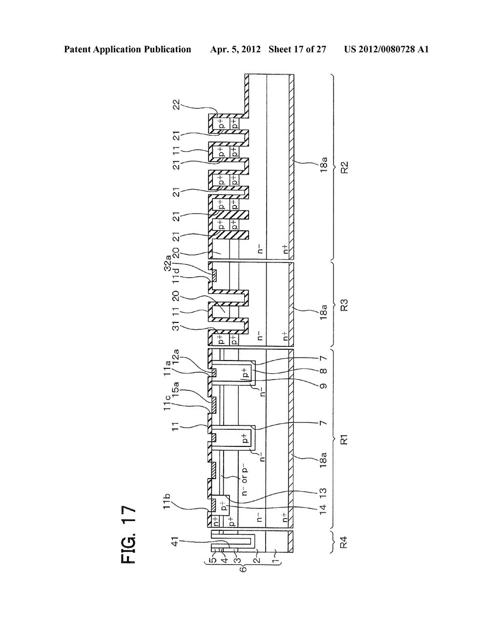 SEMICONDUCTOR DEVICE WITH JUNCTION FIELD-EFFECT TRANSISTOR AND     MANUFACTURING METHOD OF THE SAME - diagram, schematic, and image 18