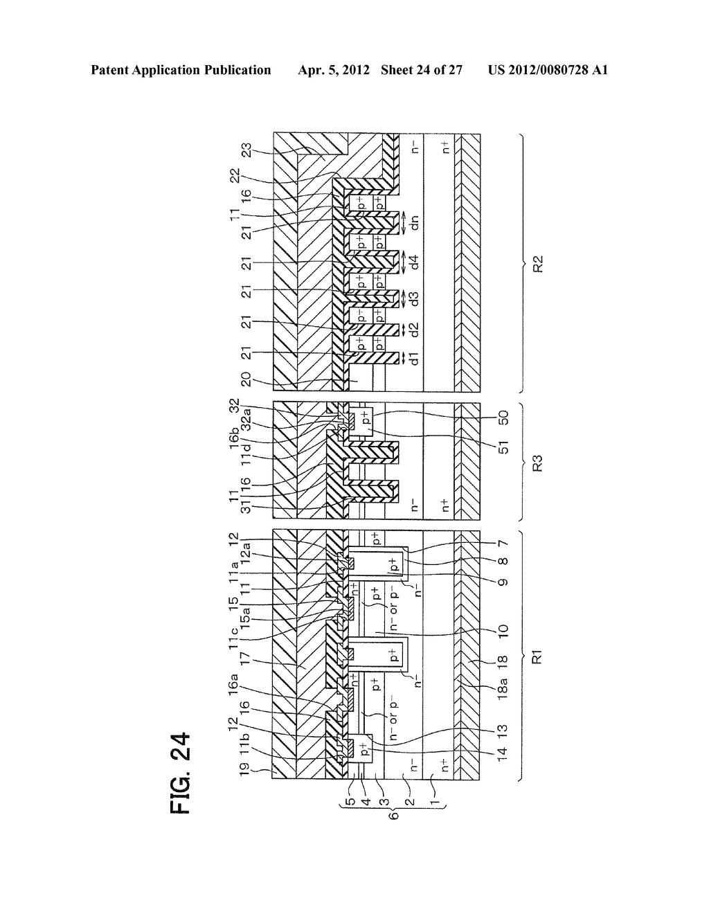 SEMICONDUCTOR DEVICE WITH JUNCTION FIELD-EFFECT TRANSISTOR AND     MANUFACTURING METHOD OF THE SAME - diagram, schematic, and image 25