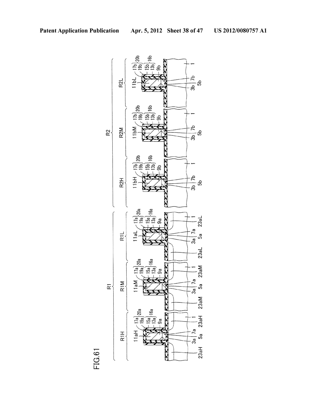 SEMICONDUCTOR DEVICE AND METHOD FOR MANUFACTURING THE SAME - diagram, schematic, and image 39