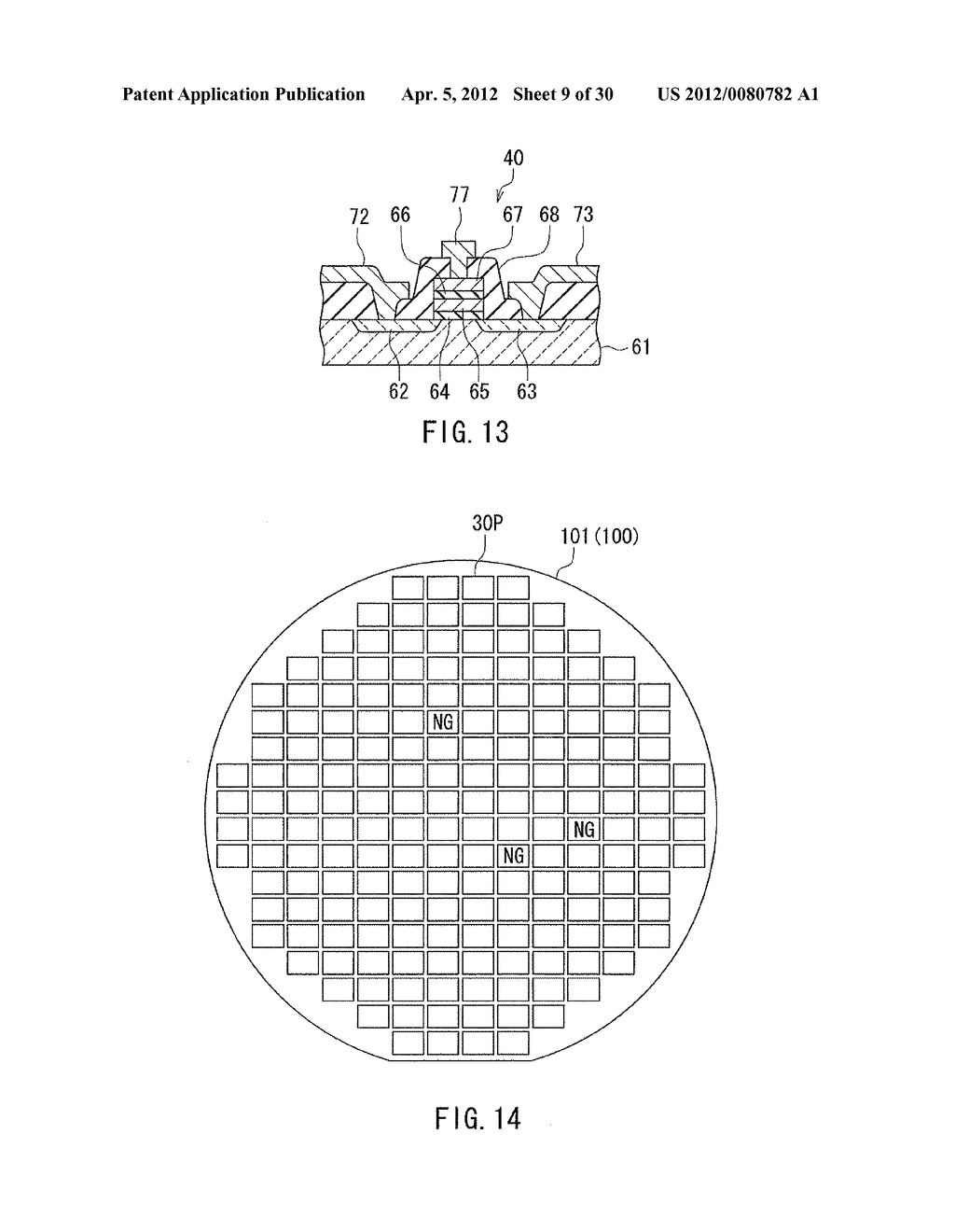 METHOD OF MANUFACTURING LAYERED CHIP PACKAGE - diagram, schematic, and image 10