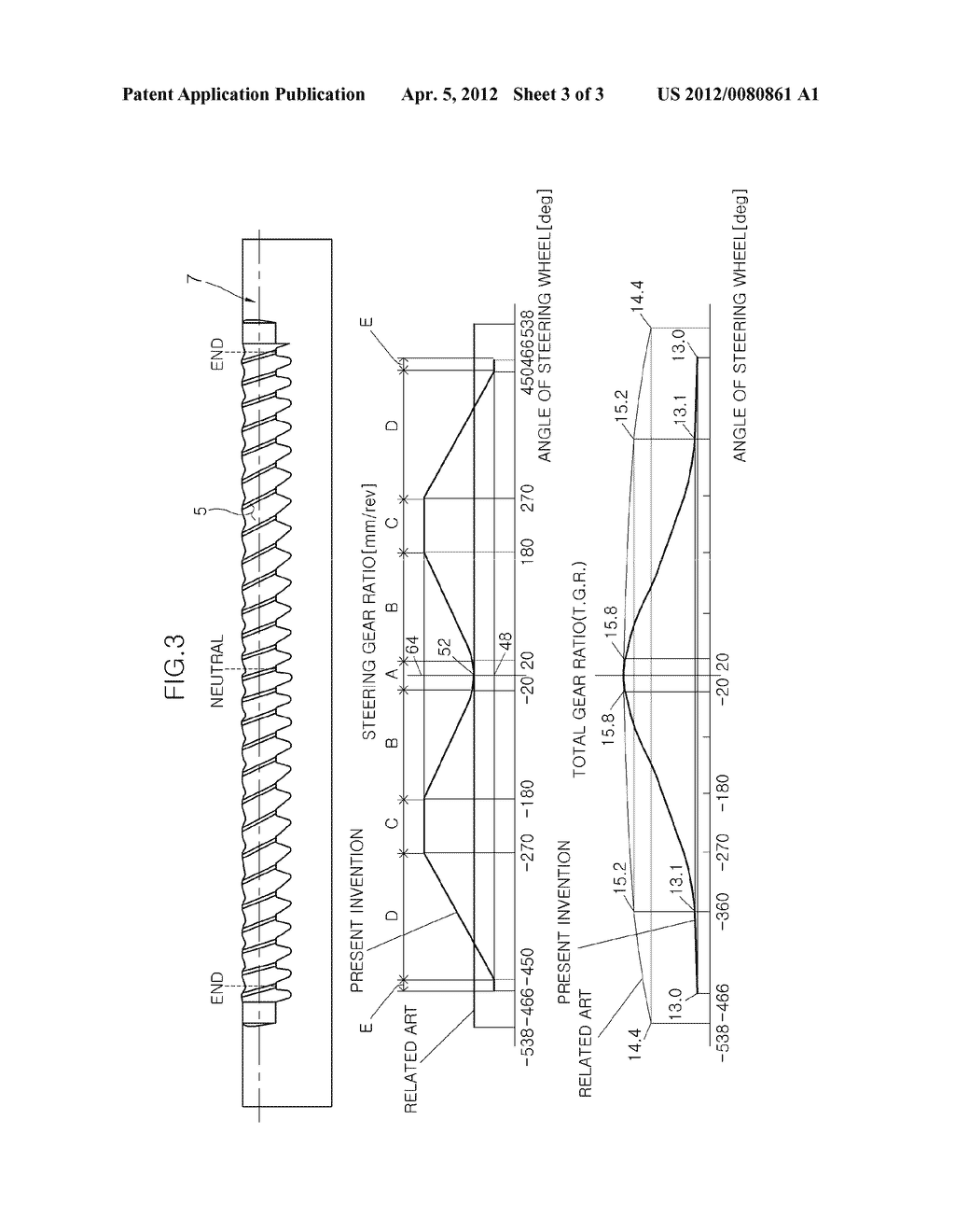STEERING APPARATUS FOR VEHICLE - diagram, schematic, and image 04
