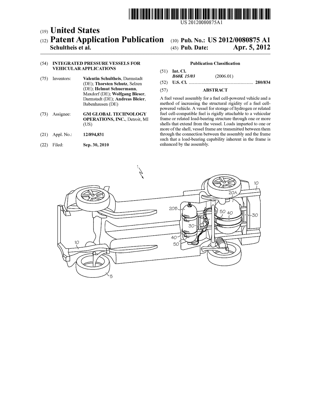 INTEGRATED PRESSURE VESSELS FOR VEHICULAR APPLICATIONS - diagram, schematic, and image 01