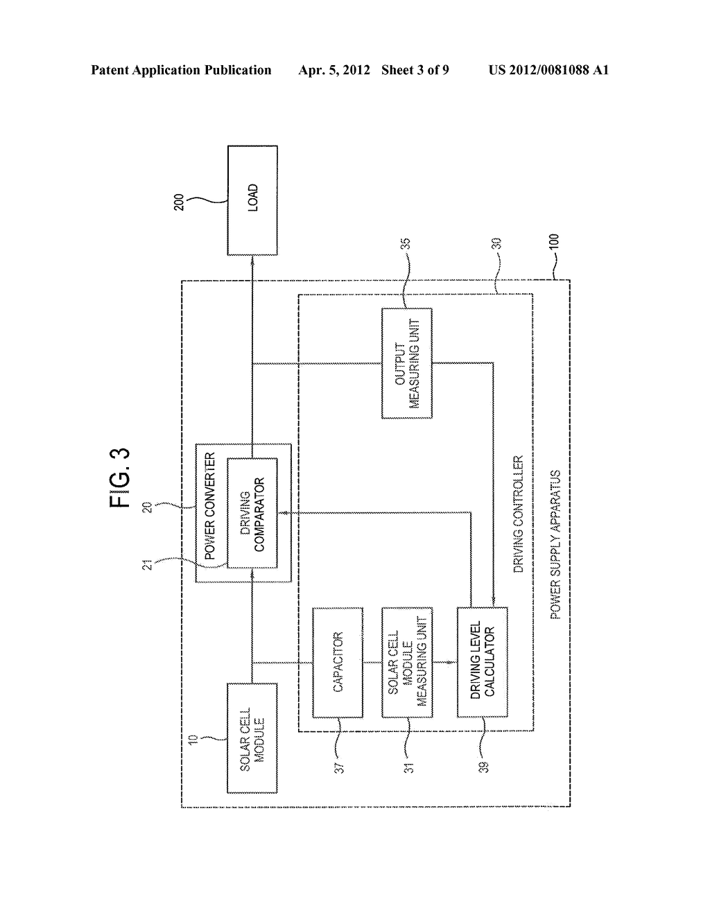 POWER SUPPLY APPARATUS, POWER SUPPLY SYSTEM AND METHOD OF SUPPLYING POWER     THEREOF - diagram, schematic, and image 04