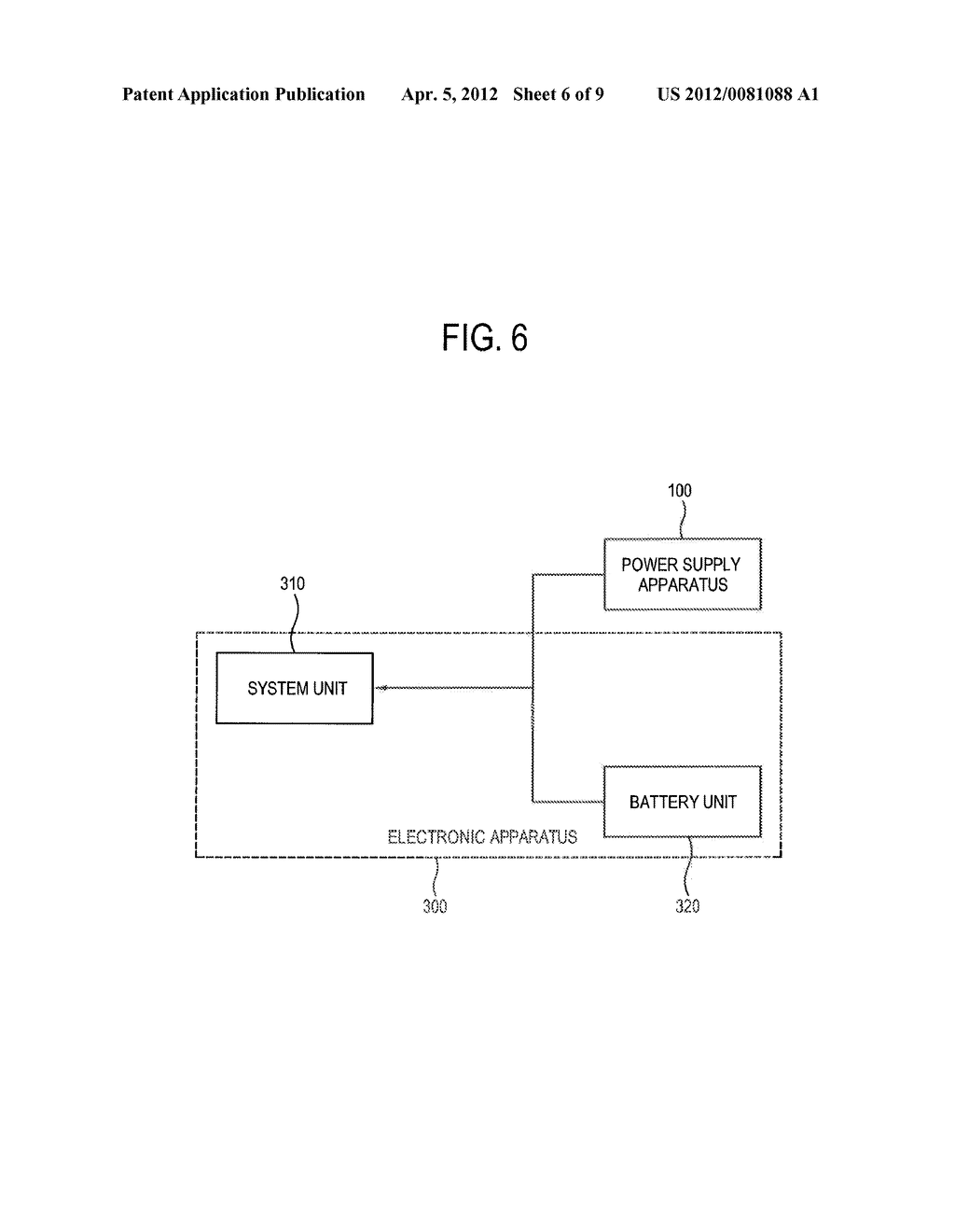 POWER SUPPLY APPARATUS, POWER SUPPLY SYSTEM AND METHOD OF SUPPLYING POWER     THEREOF - diagram, schematic, and image 07