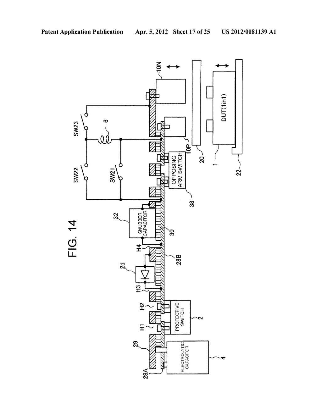 SEMICONDUCTOR TEST DEVICE, SEMICONDUCTOR TEST CIRCUIT CONNECTION DEVICE,     AND SEMICONDUCTOR TEST METHOD - diagram, schematic, and image 18