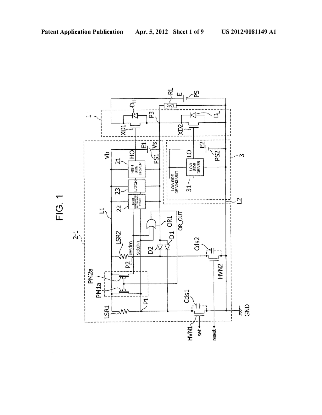 LEVEL SHIFT CIRCUIT - diagram, schematic, and image 02