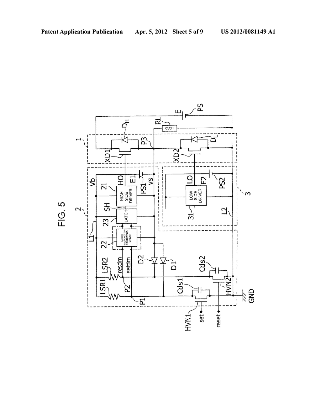 LEVEL SHIFT CIRCUIT - diagram, schematic, and image 06