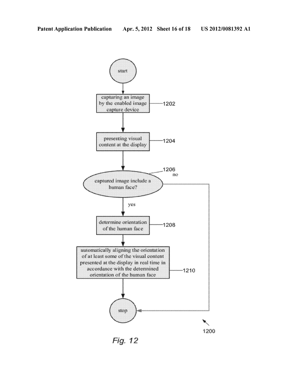 ELECTRONIC DEVICE OPERATION ADJUSTMENT BASED ON FACE DETECTION - diagram, schematic, and image 17