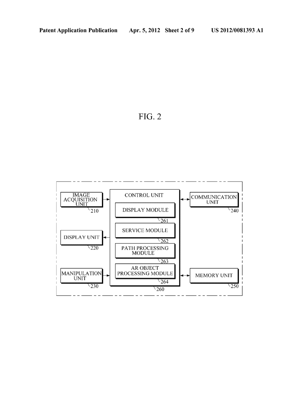 APPARATUS AND METHOD FOR PROVIDING AUGMENTED REALITY USING VIRTUAL OBJECTS - diagram, schematic, and image 03