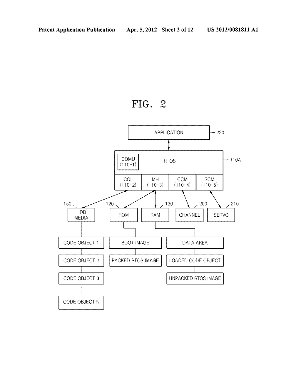 DISK DRIVE AND METHOD OF WRITING TO DISK USING DISK DRIVE - diagram, schematic, and image 03