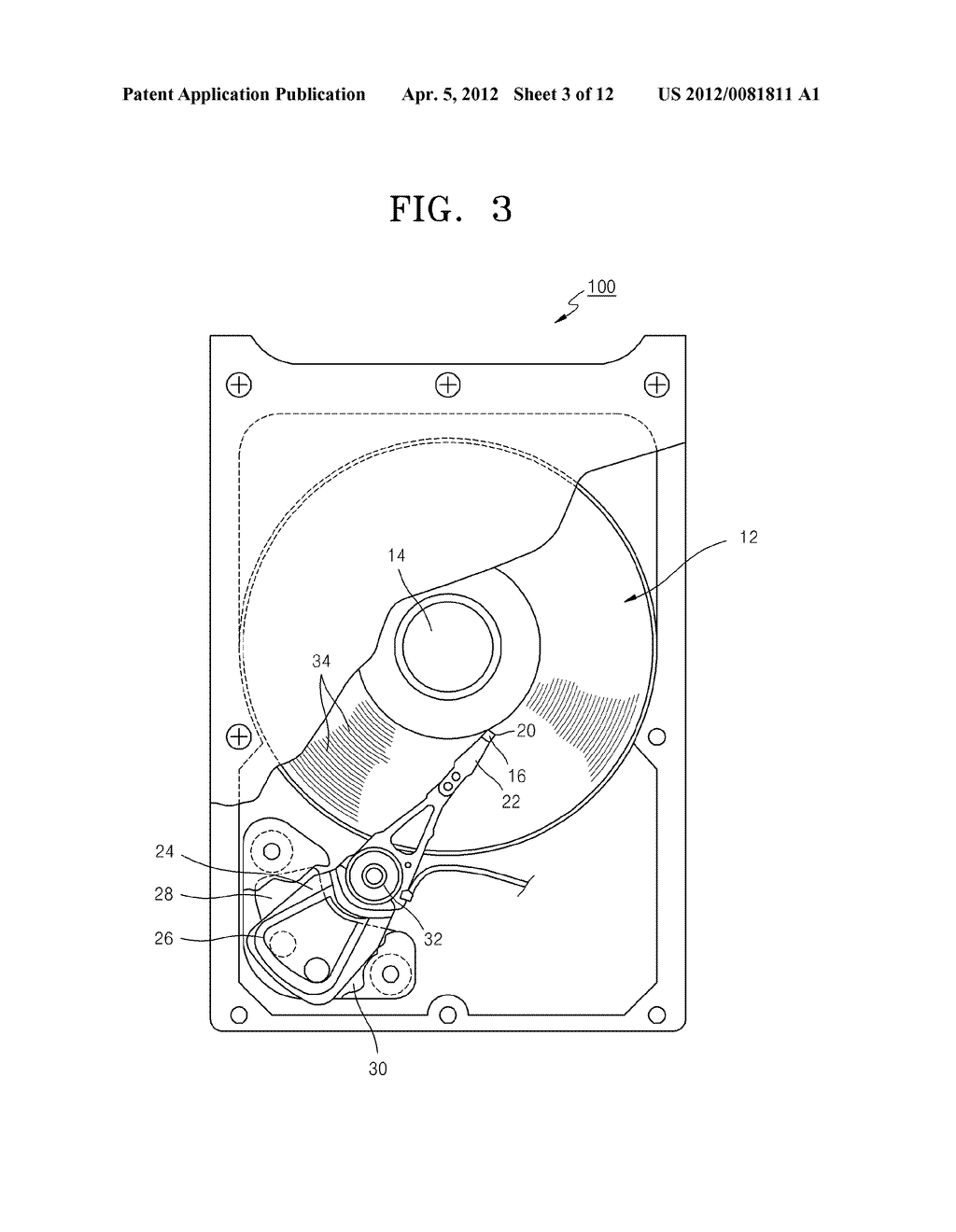DISK DRIVE AND METHOD OF WRITING TO DISK USING DISK DRIVE - diagram, schematic, and image 04