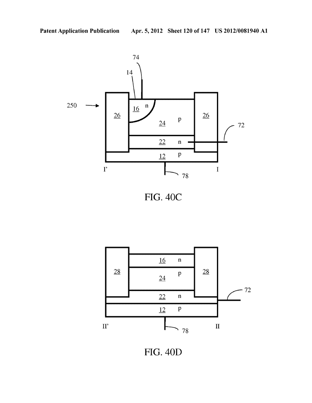 SEMICONDUCTOR MEMORY DEVICE HAVING AN ELECTRICALLY FLOATING BODY     TRANSISTOR - diagram, schematic, and image 121