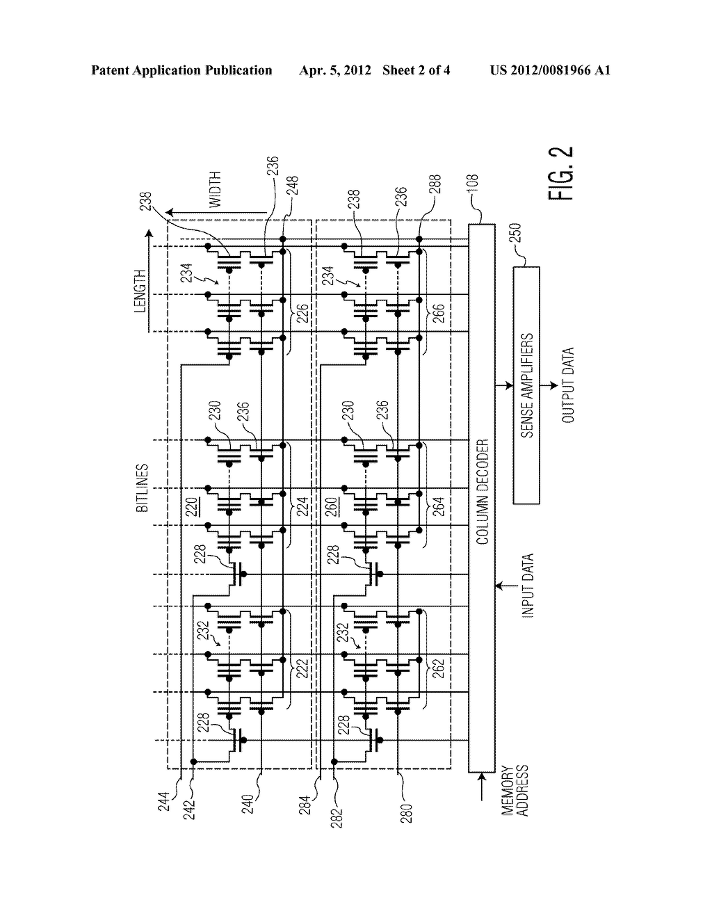 COMBINED EEPROM/FLASH NON-VOLATILE MEMORY CIRCUIT - diagram, schematic, and  image 03