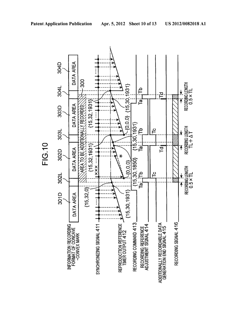 OPTICAL DISC RECORDING DEVICE AND RECORDING SIGNAL GENERATING DEVICE - diagram, schematic, and image 11