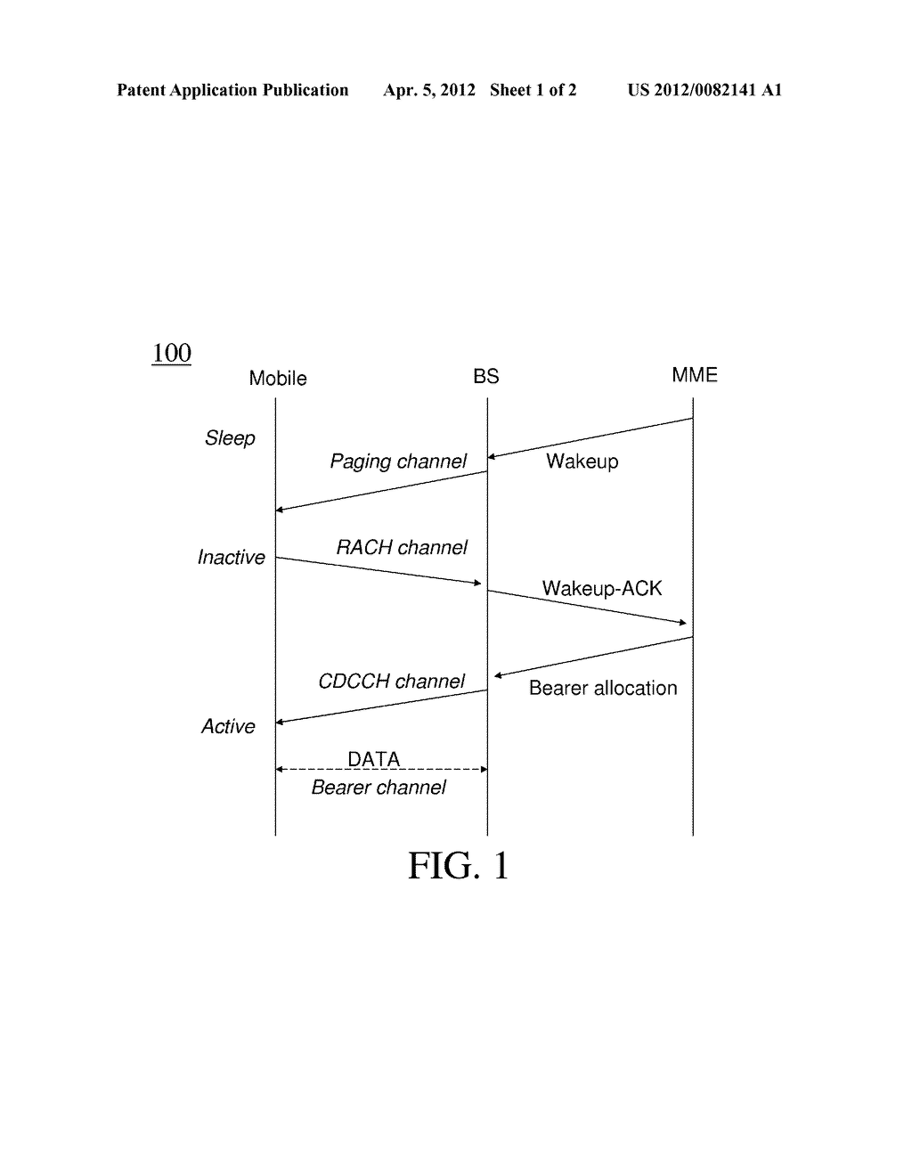 Method And Apparatus For Improved Paging In Wireless Communication - diagram, schematic, and image 02