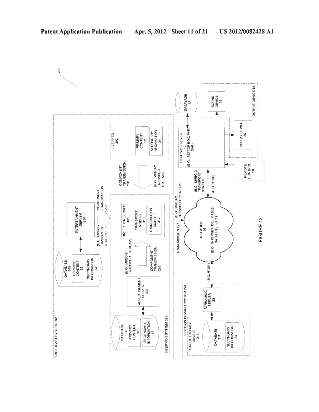 SYSTEMS AND METHODS TO MODIFY PLAYOUT OR PLAYBACK - diagram, schematic, and image 12