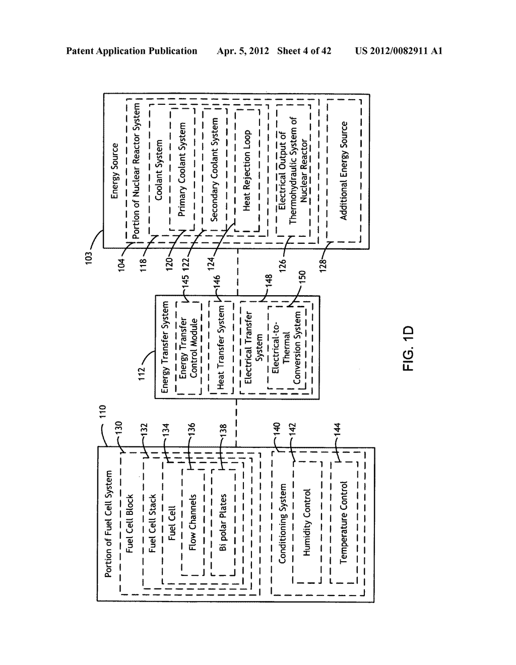System and method for maintaining and establishing operational readiness     in a fuel cell backup system of a nuclear reactor system - diagram, schematic, and image 05