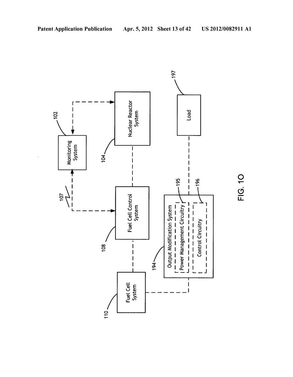 System and method for maintaining and establishing operational readiness     in a fuel cell backup system of a nuclear reactor system - diagram, schematic, and image 14