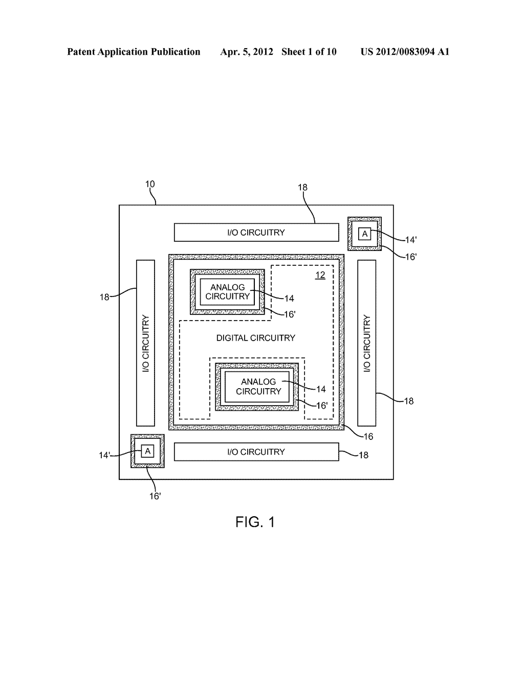 INTEGRATED CIRCUIT GUARD RINGS - diagram, schematic, and image 02