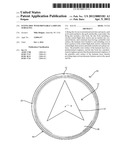 FLYING DISC WITH PRINTABLE LAMINATE SURFACING diagram and image